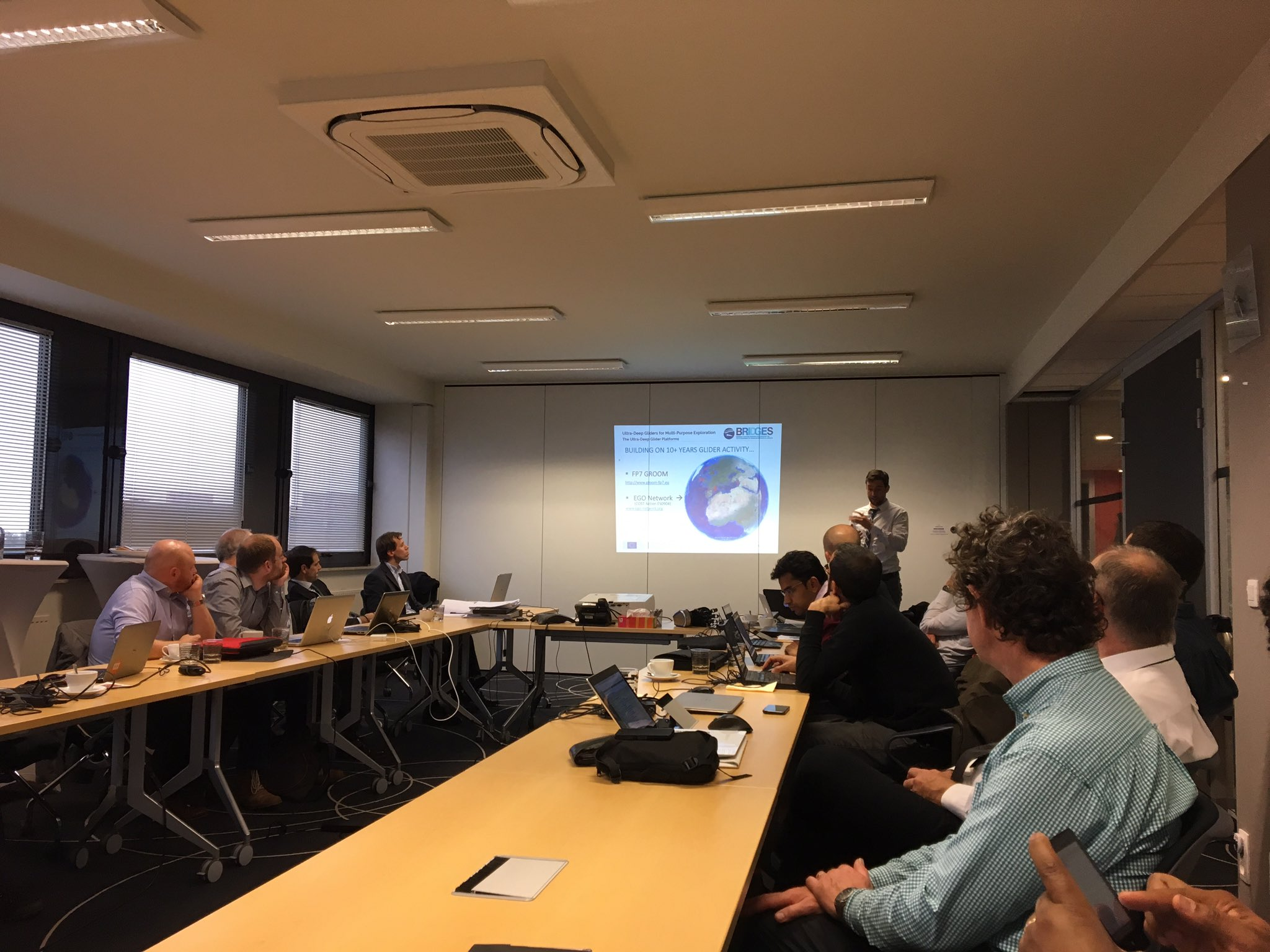 BRIDGES review presentations at SpaceApplications, Brussels, 0ct 2016